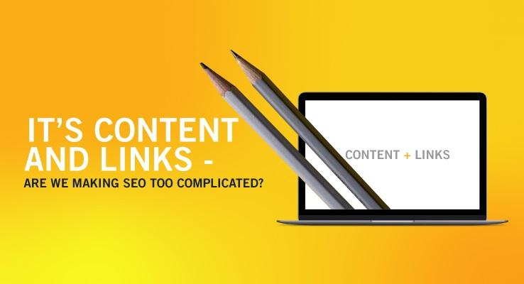Content and Links-SEO