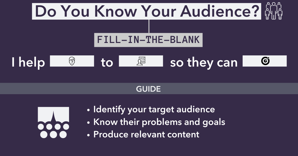 Targeting your audience for financial advisors