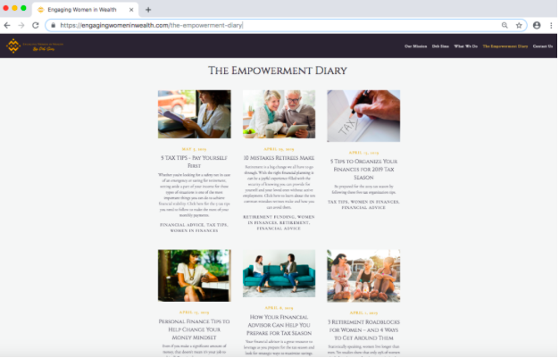 Engaging Women in Wealth Empowerment Diary