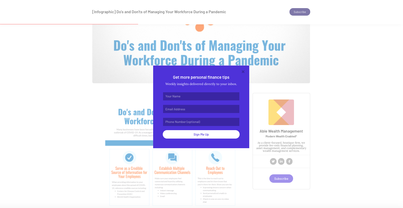 Dos and Dont's of Managing workforce