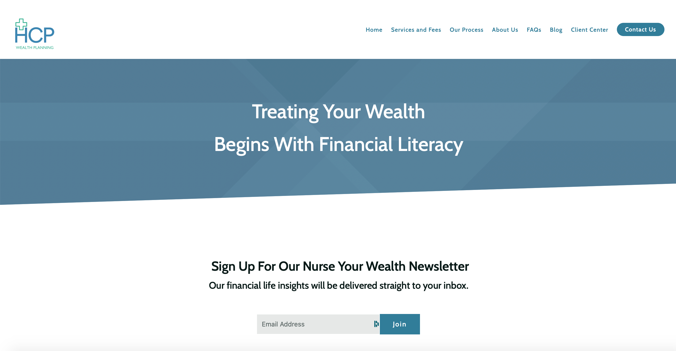 HCP Wealth email newsletter