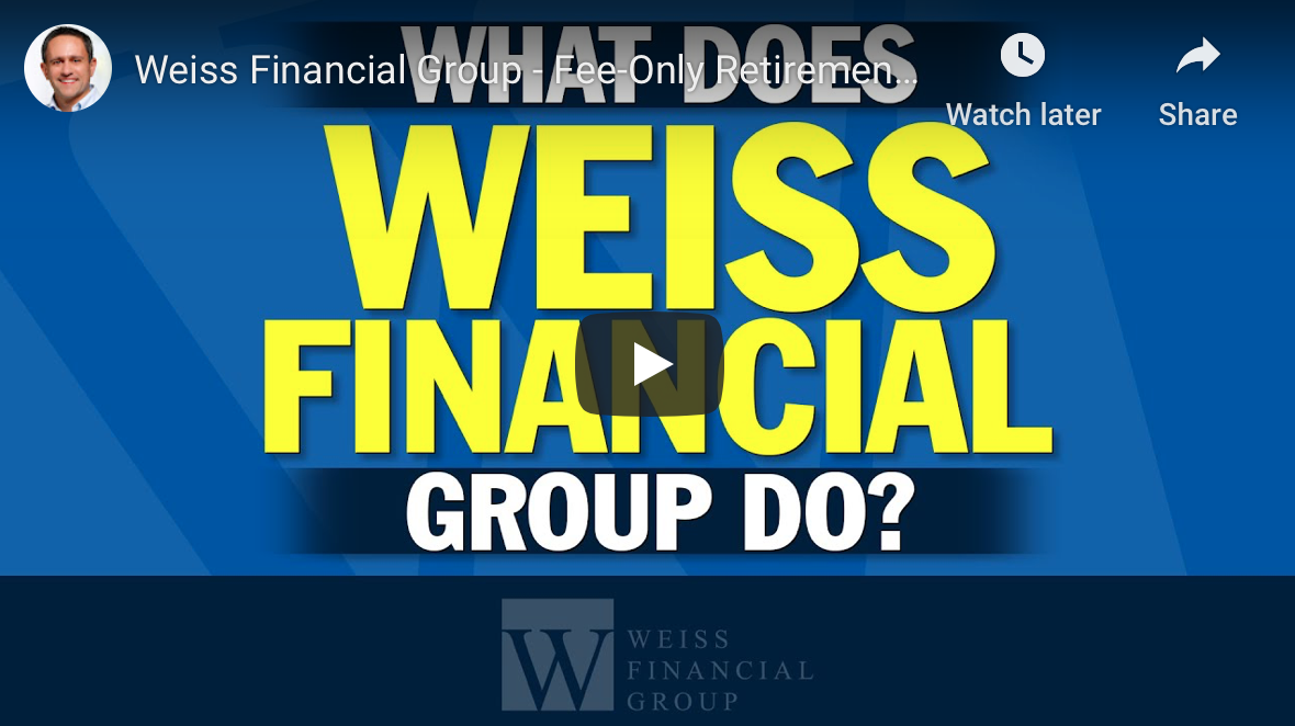 Weiss Financial Group YouTube introduction