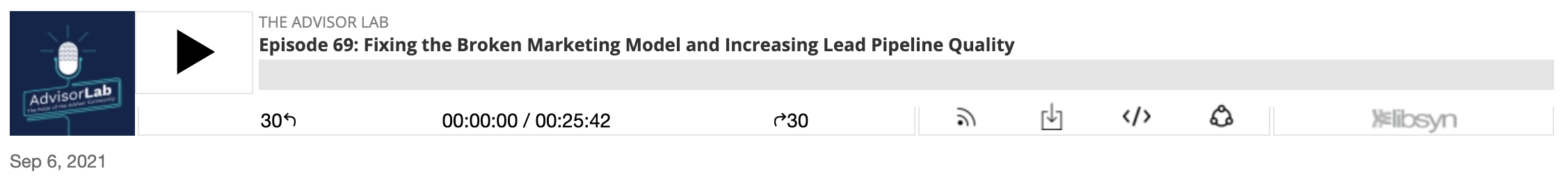 The Advisor Lab-Getting more quality leads
