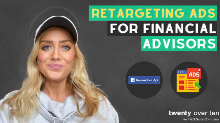 In today's video Samantha Russell from FMG Suite and Twenty Over Ten talks about how to increase conversions through retargeting ads.