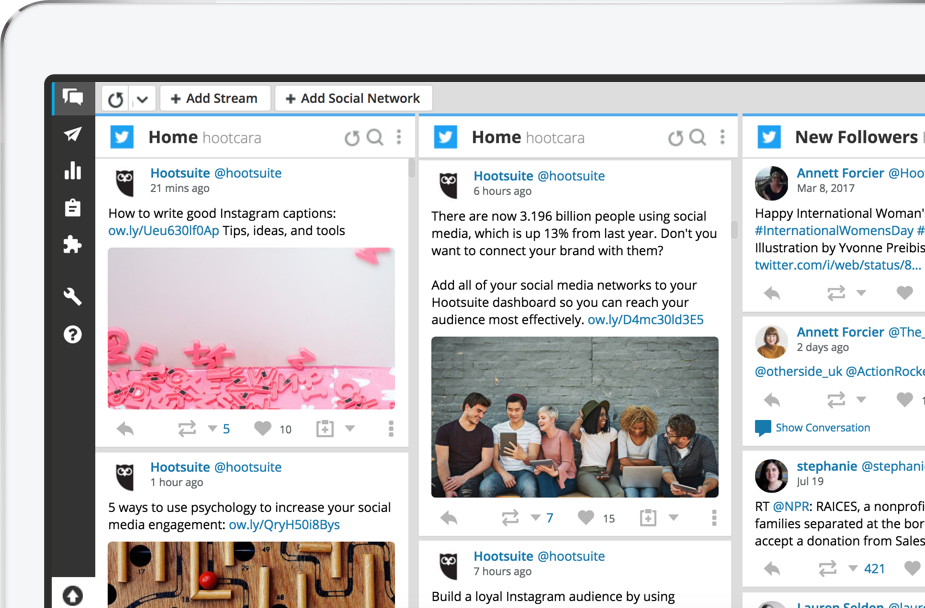 Hootsuite can help you schedule your tweets ahead of time.